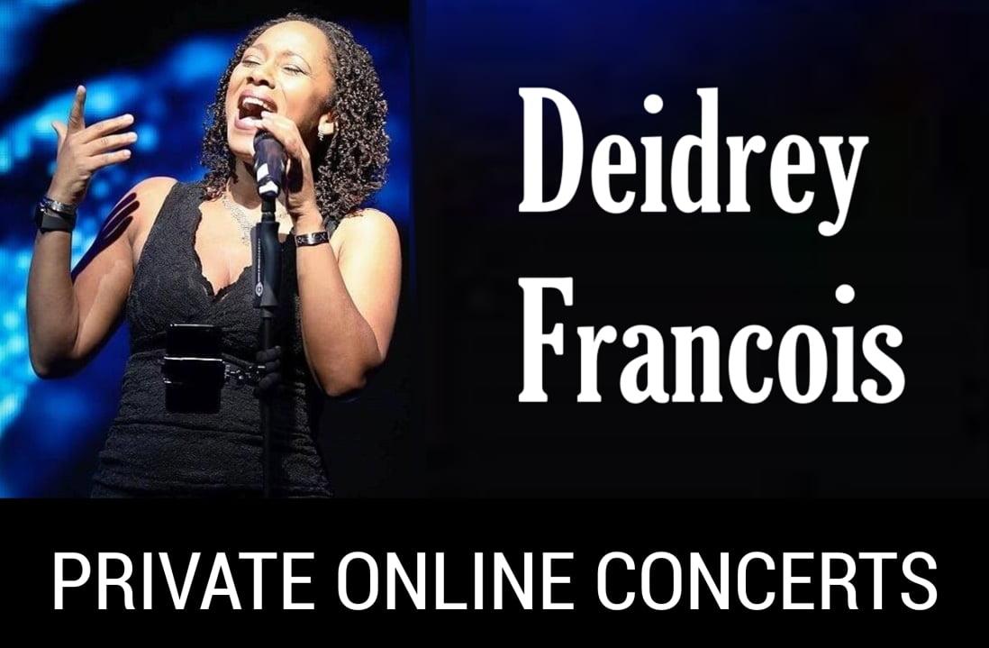 Toronto Singer, Songwriter Deidrey Francois.